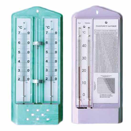Прилади для вимірювання вологості повітря
